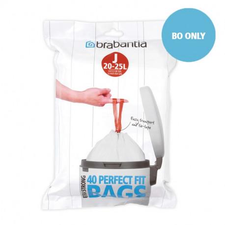 Sacs poubelle PerfectFit 20-25L J, Brabantia