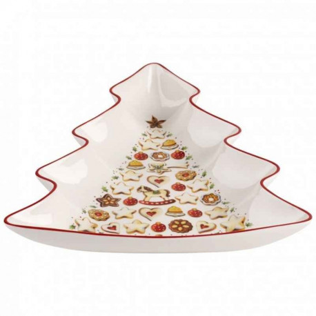 Brun Porcelaine Villeroy /& Boch Winter Bakery Decoration D/écoration de sapin Renne en pain d/épices