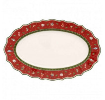 Plat de service ovale en porcelaine Toy's Delight, Villeroy & Boch