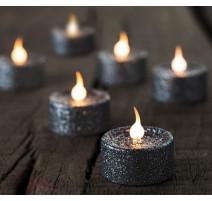 Coffret 6 bougies Lone Argent, Sirius