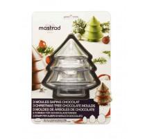 3 moules à chocolat Sapins, Mastrad