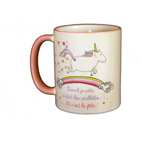Mug Licorne, Art Grafik