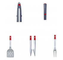 Set d'ustensiles MyClick Carbone, Barbecook