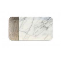 Plat 38x19 cm Carrara, Touch Mel