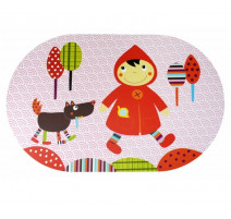 Set de table le Chaperon rouge, Ebulobo