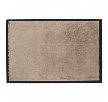 Tapis microfibre 60 x 90 cm taupe, Sweet Sol