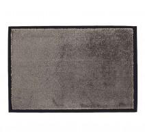 Tapis microfibre 60 x 90 cm gris, Sweet Sol