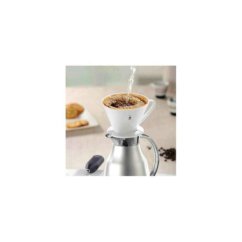 Acheter Portefiltre à Café Porcelaine Sandro Gefu - Porte filtre café