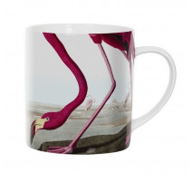 Mug Flamant rose, Cubic