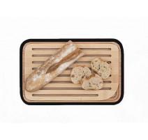 Planche à pain bambou 28 x 18, Pebbly