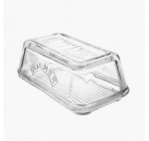 Beurrier verre transparent, Kilner