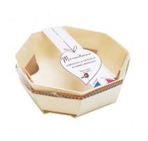 Moules à gateaux hexagonaux bois, Mirontaine