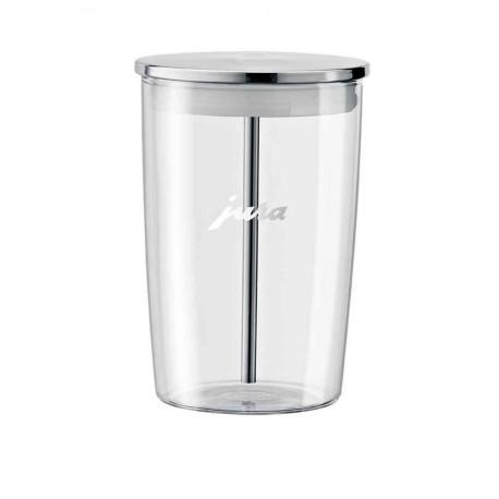 Récipient lait en verre, Jura