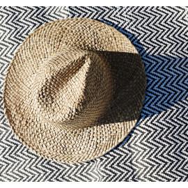 Chapeau de paille décoratif, Madame Stoltz