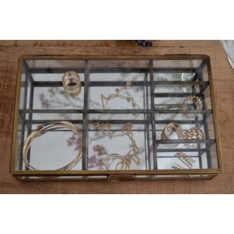 Boîte à bijoux 8 compartiments, Madame Stoltz