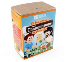 Kit de culture enfants champignons de Paris bio, Radis et capucine