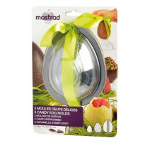 3 Moules oeufs en chocolat, Mastrad