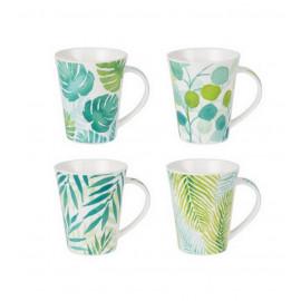 Coffret de 4 mugs Mooréa, Table Passion