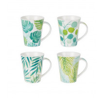 Coffret de 4 mugs Mooréa, Table Passion