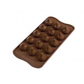 Moule chocolat Choco flame, Silikomart