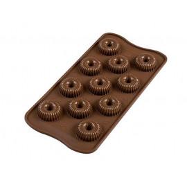 Moule chocolat Choco crown, Silikomart
