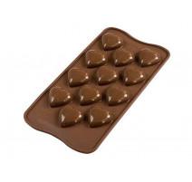 Moule chocolat Choco my love , Silikomart