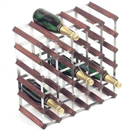 achat casier bouteille 30 bouteilles traditional wine rack rack vin. Black Bedroom Furniture Sets. Home Design Ideas