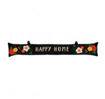 Bas de porte Happy Home fleuri, Derrière la porte