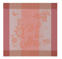 Serviette de table Asia Mood Rose Thé, Le Jacquard Français