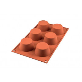 Moule Muffin silicone, Silikomart