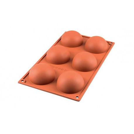 Moule demi-sphère silicone, Silikomart