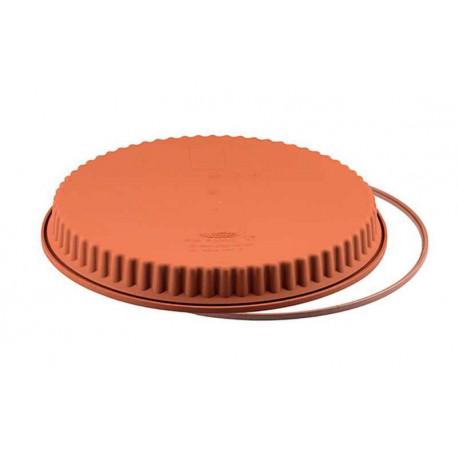 Moule à tarte silicone 26 cm, Silikomart