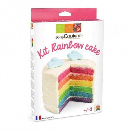 Kit rainbow cake, Scrapcooking