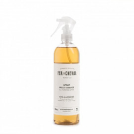 Spray multi-usages au savon de Marseille 500mL , Fer à cheval