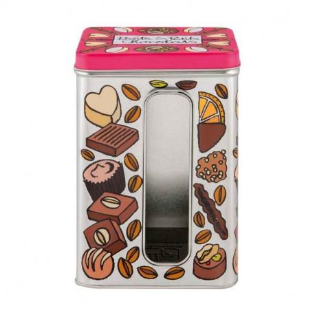 Boîte à fenêtre Petits chocolats, Derrière la porte