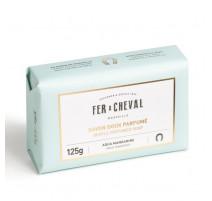 Savon doux parfumé Aqua Mandarine 125g, Fer à Cheval