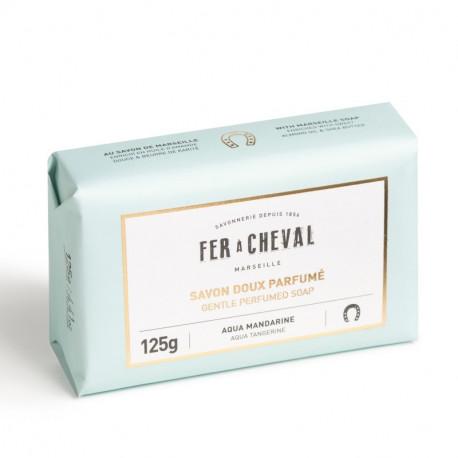 Savon doux parfumé Aqua Mandarine, Fer à Cheval