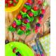 Set de 4 piques à brochettes Hot pop, Zak Designs