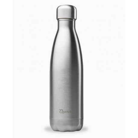 Bouteille 500 ml isotherme inox, Qwetch