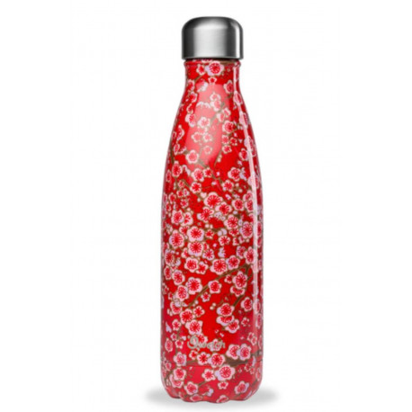 Bouteille 500 ml isotherme Flowers, Qwetch