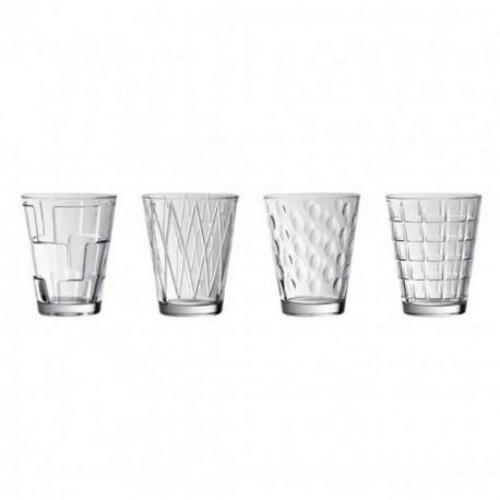 Coffret 4 gobelets à eau Dessed Up, Villeroy & Boch
