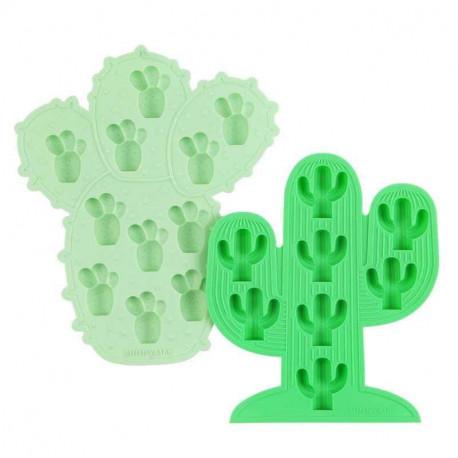 Set 2 bacs à glaçons Cactus, Sunnylife