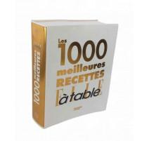 Les 1000 meilleures recettes de Elle à table, Hachette cuisine