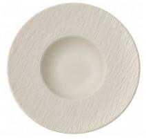 Assiette à pâtes Manufacture Rock blanc, Villeroy & Boch
