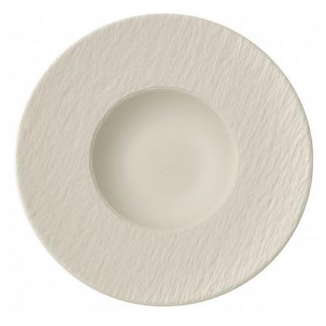 Assiette à pâtes Manufacture Rock blanc, Villeroy et Boch