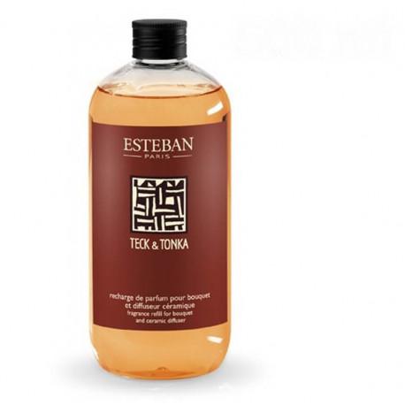 Recharge de parfum 500ml Teck & Tonka, Esteban