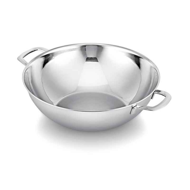 acheter wok inox 38 cm avec couvercle beka. Black Bedroom Furniture Sets. Home Design Ideas