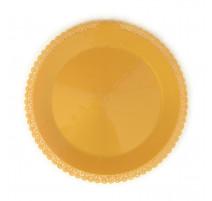 Plat dentelle doré, Scrapcooking
