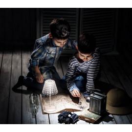 Lampe sans fil Tiffany, Guzzini