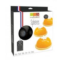 Moule semi-rigide 9 demi-sphères, ScrapCooking